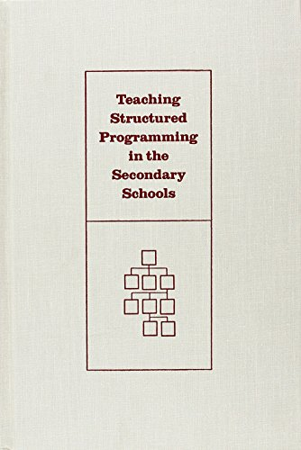 9780894643606: Teaching Structured Programming in the Secondary Schools