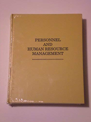 PERSONNEL AND HUMAN RESOURCE MANAGEMENT: Sikula, Andrew F.