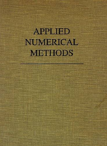 9780894644863: Applied Numerical Methods