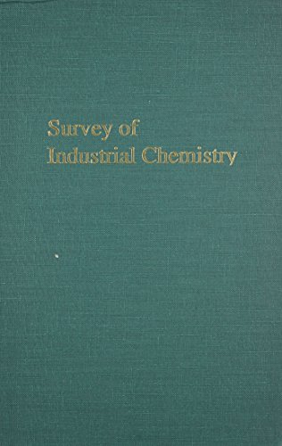 9780894645044: Survey of Industrial Chemistry