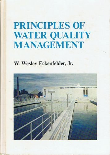 9780894645174: Principles Of Water Quality Ma