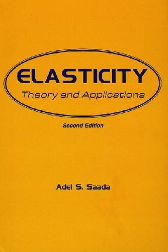 9780894645617: Elasticity: Theory and Applications