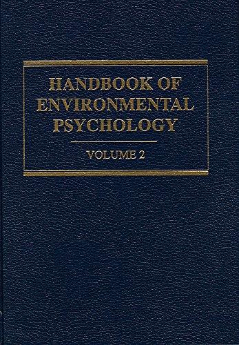 Handbook of Environmental Psychology (Volume 2 ONLY): Daniel Stokols