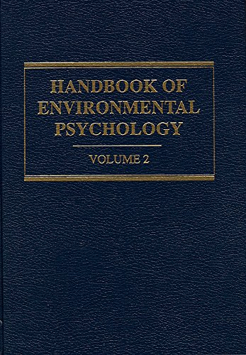 9780894646096: Handbook of Environmental Psychology
