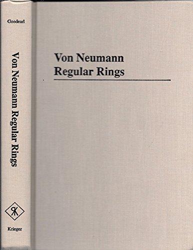 9780894646324: Von Neumann Regular Rings