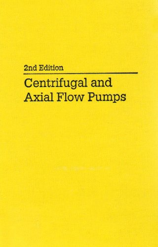 9780894647239: Centrifugal and Axial Flow Pumps: Theory, Design, and Application