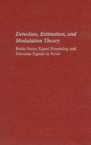 9780894647482: Radar-Sonar Signal Processing and Gaussian Signals in Noise (Detection, Estimation, and Modulation Theory, Part 3)