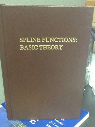 9780894647710: Spline Functions: Basic Theory