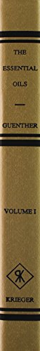 Essential Oils (6 Vols) Gold E (Hardback): Guenther
