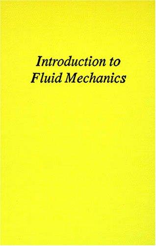 9780894647857: Introduction to Fluid Mechanics