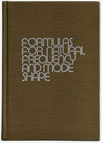 9780894648304: Formulas for Natural Frequency and Mode Shape