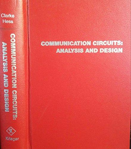 9780894648632: Communication Circuits: Analysis and Design