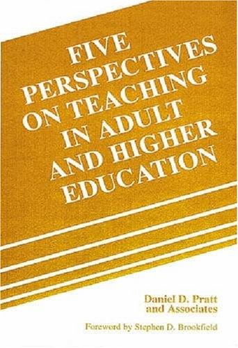 9780894649370: Five Perspectives on Teaching in Adult and Higher Education