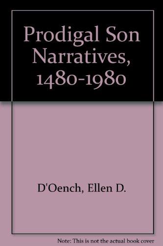 9780894670701: Prodigal Son Narratives, 1480-1980