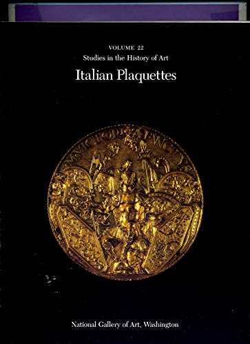 9780894681141: Italian Plaquettes (Studies in the History of Art)