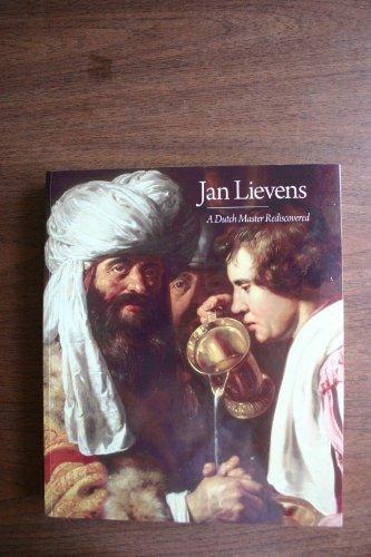 9780894683558: Jan Lievens: A Dutch Master Rediscovered