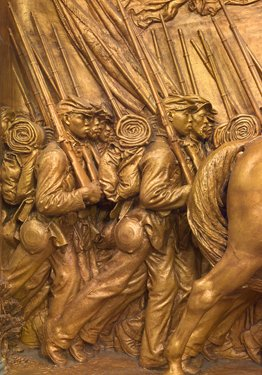 9780894683848: Tell It with Pride : The 54th Massachusetts Regiment and Augustus Saint-gaudens' Shaw Memorial