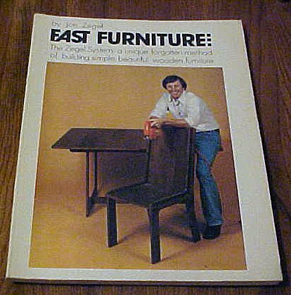 9780894710285: Fast Furniture: The Zegel System: A Unique Forgotten Method of Building Simple, Beautiful Wooden Furniture