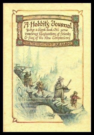 9780894710902: A hobbit's journal