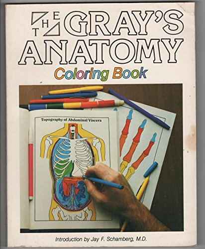 Gray's Anatomy Coloring Book: Gail Potamkin, Matthew V. De Caro, Henry Gray