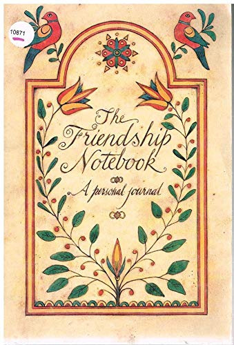9780894711626: The Friendship Notebook