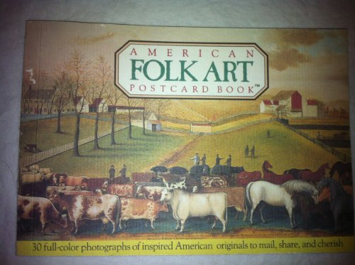 9780894714610: American Folkart Postcard Book