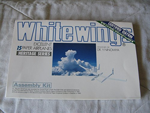 9780894717000: Whitewings: Excellent Paper Airplanes/Assembly Kit (Heritage Series)