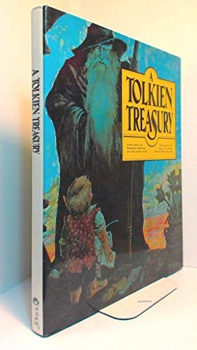 A Tolkien Treasury. Illustrations by Michael Green. Color illustrations by Tim Kirk.: Becker, Alida...