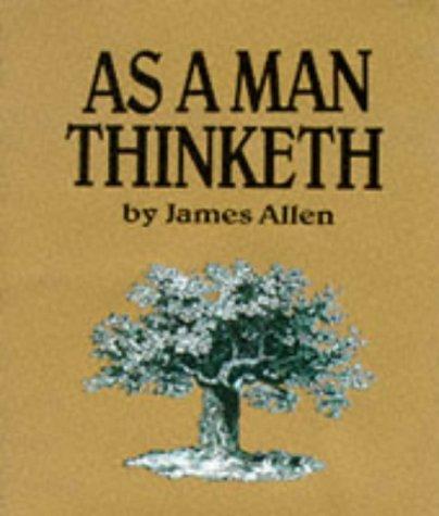 9780894717147: Mini Ed/as A Man Thinketh (Running Pr Miniature Editions)