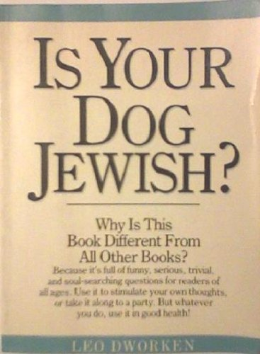 9780894717468: Is Your Dog Jewish?