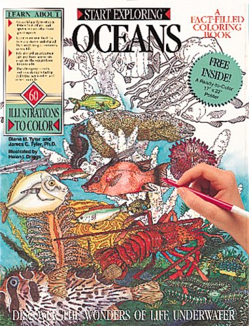 9780894717598: Oceans Coloring Book (Start Exploring)