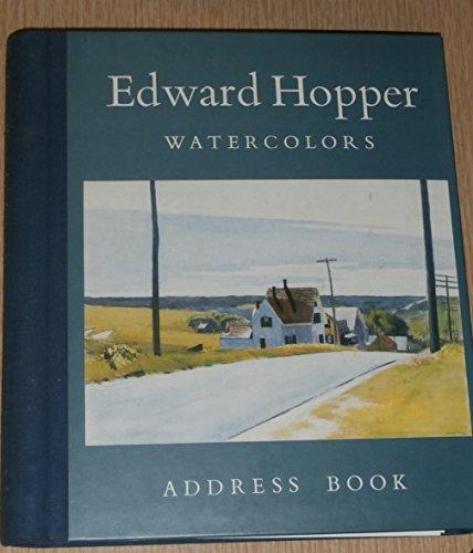 9780894717741: Edward Hopper Watercolors Address Book