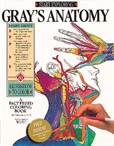 9780894718632: Start Exploring Gray's Anatomy: A Fact-Filled Coloring Book