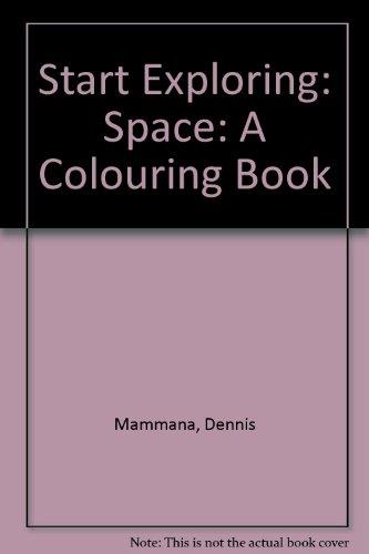 St. Exp. Space Coloring Bk (Start exploring): Mammana
