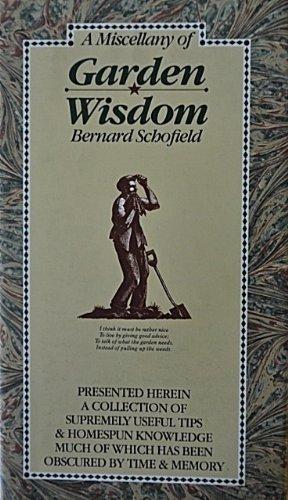 9780894718915: A Miscellany of Garden Wisdom