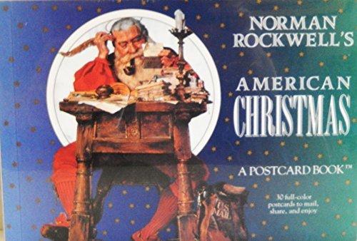 9780894718946: Norman Rockwell's American Christmas: A Postcard Book (Postcard Books)
