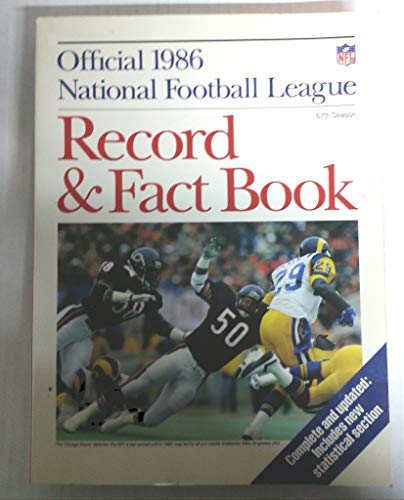 9780894800122: Official National Football League Record and Fact Book 1986 (Official NFL Record & Fact Book)