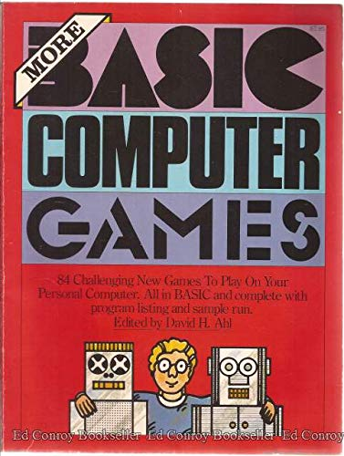 9780894801372: More Basic Computer Games