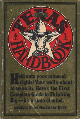 9780894801921: The Genuine Texas Handbook