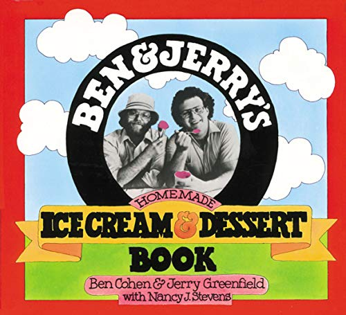 Ben & Jerry's Homemade Ice Cream & Dessert Book 9780894803123 With little skill, surprisingly few ingredients, and even the most unsophisticated of ice-cream makers, you can make the scrumptious ice
