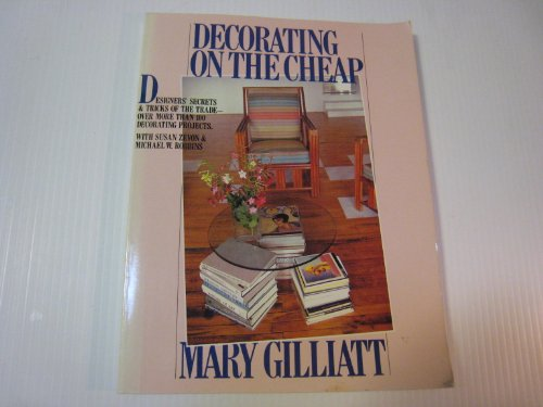 9780894803536: Decorating on the Cheap