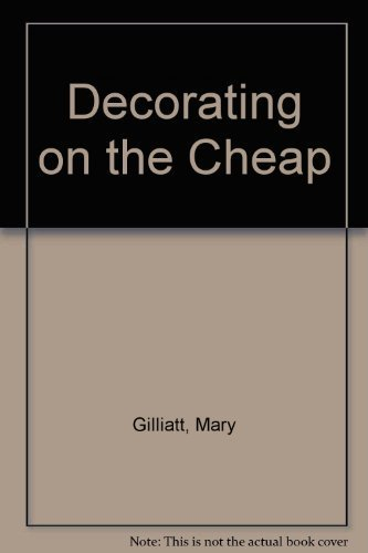 9780894803543: Decorating on the Cheap