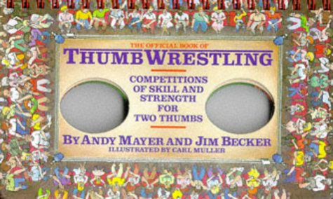 9780894803635: Official Book of Thumb Wrestling Game Board Book
