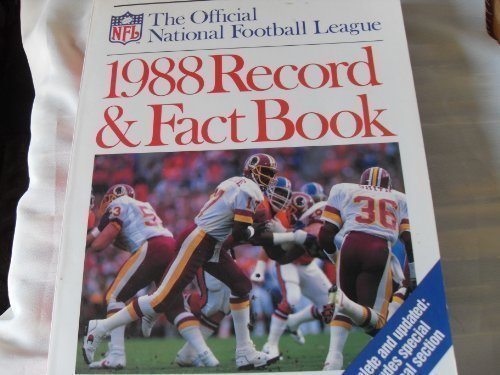 9780894805875: Official National Football League 1988 Record and Fact Book (Official NFL Record & Fact Book)