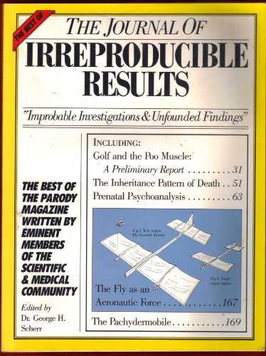 9780894805950: The Best of the Journal of Irreproducible Results