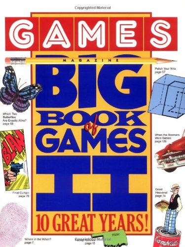9780894806322: Games Magazine Big Book of Games II: 10 Great Years!