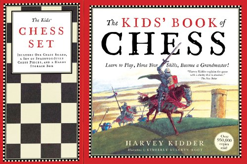 9780894807671: The Kids' Book of Chess and Chess Set