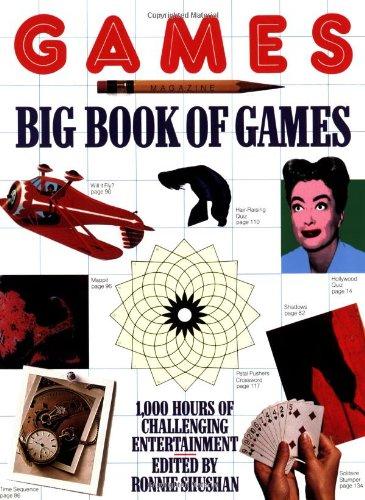 Games Magazine Big Book of Games: Shushan, Ronnie