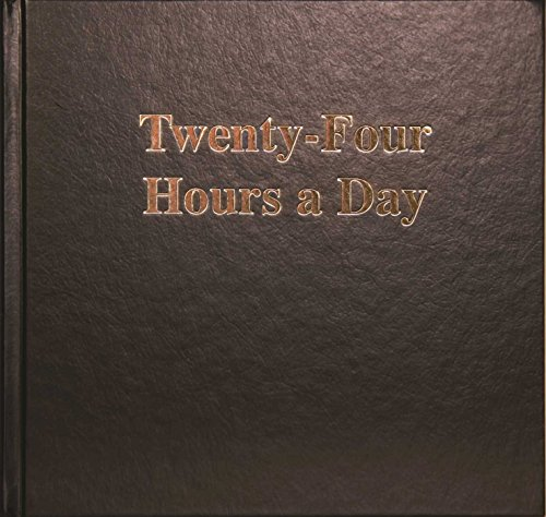 9780894861086: Twenty Four Hours a Day Larger Print