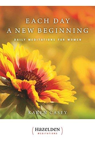 9780894861611: Each Day a New Beginning: Daily Meditations for Women (Hazelden Meditations)